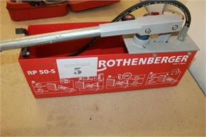 Hydraulikpresse, Rothenberger, RB50-S